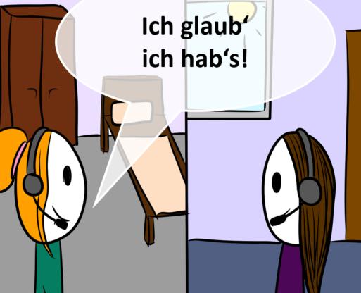 """Anna """"fischgrätisiert"""" Daten"""